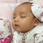 Gaya Tidur Baby Hani