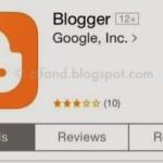 Aplikasi Blogger Untuk iPhone Dan iPad