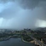 Hujan Di Belakang PICC Putrajaya