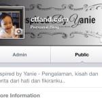 Letak Facebook Fanpage Untuk Blog