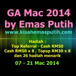 GA Mac 2014 by Emas Putih