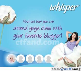 Whisper Mesh And Cotton, Istimewa Untuk Wanita