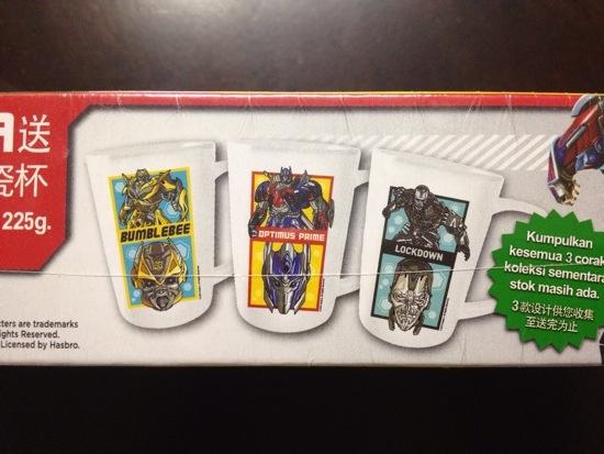 Percuma Mug Transformers Dengan Pembelian Darlie