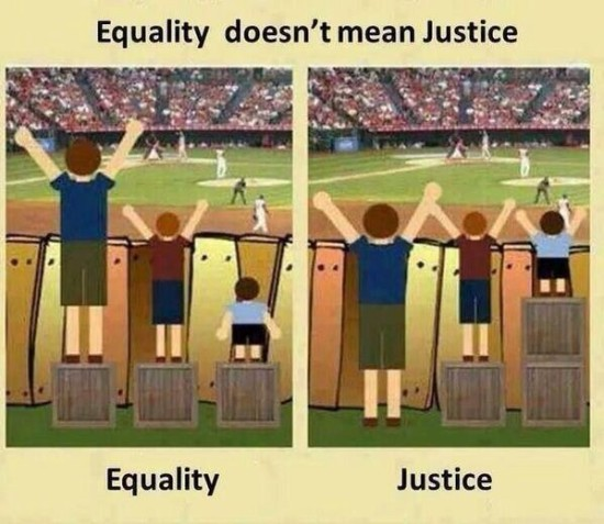 Ww #26: Equality VS Justice