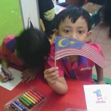 merdeka di tadika