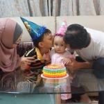 Sambutan Sederhana Hari Lahir Hani Yang Pertama
