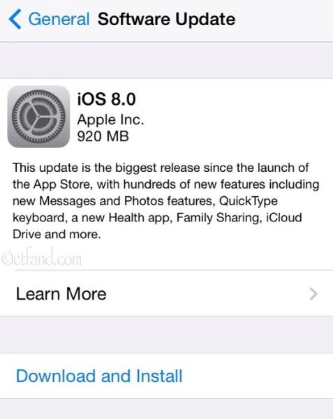 Mujur Belum Update Ke iOS 8