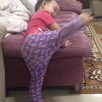 Hani Pun Nak Taekwondo Juga!