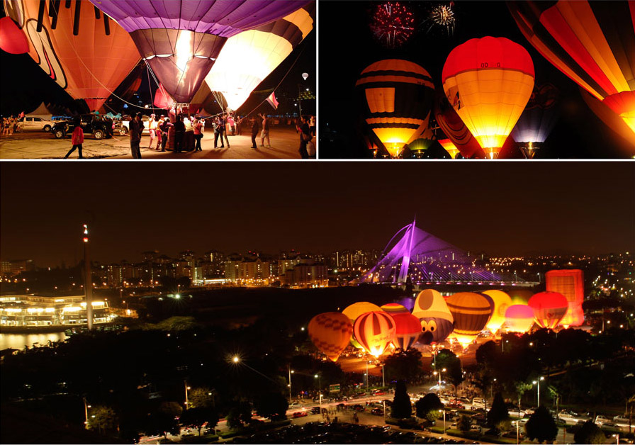 putrajaya hot ari balloon