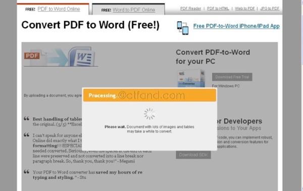 Tukar Dokumen PDF ke Word