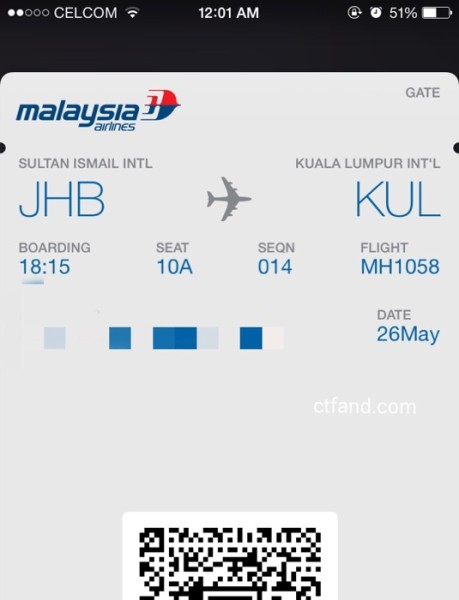 Perjalanan Untuk Tugas Luar Di Johor Bahru