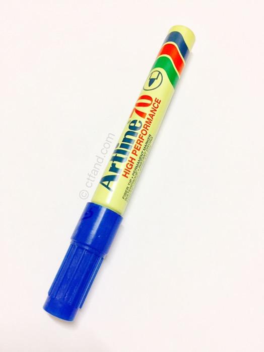 Bila Anak Main Pen Marker
