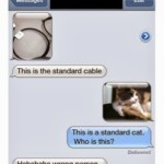 Wordless Wednesday #5: Wrong Number!