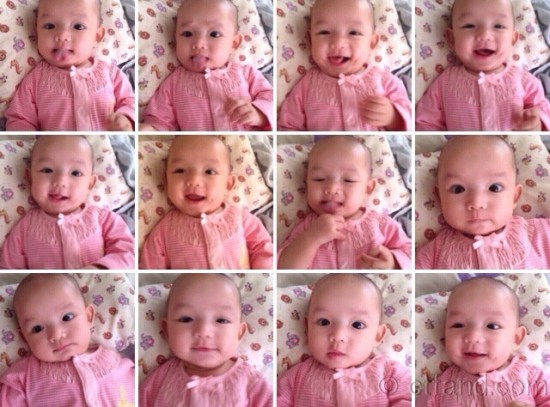 Wordless Wednesday #8: Baby Hani Macam-Macam