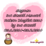 Segmen Ina Sazali Mencari Rakan Bloglist 2014