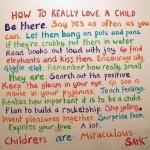 Wordless Wednesday #10: Ingatlah Wahai Ibu Bapa