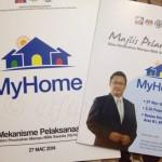 Majlis Pelancaran Skim Perumahan Mampu Milik (MyHome)