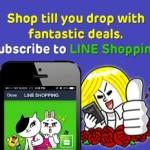 Kempen Iklan Line Shopping