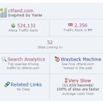 Alexa Traffic Rank Terkini