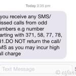 SMS Peringatan Mesra Dari Digi