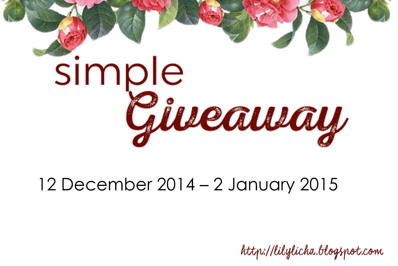 simple giveaway_by licha