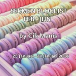 Segmen Bloglist Februari – Jun by Cik Manis