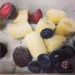Resepi Smoothie: Pisang, Strawberry Dan Blueberry